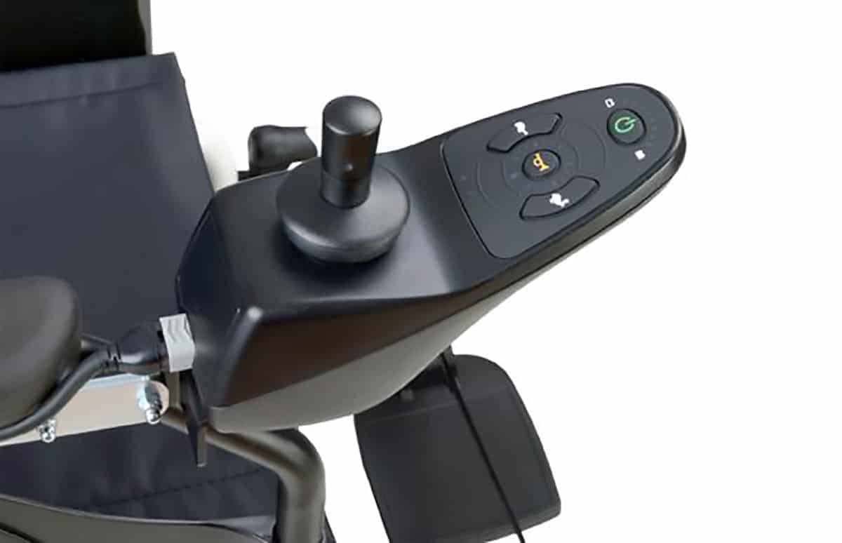 Comando de cadeira de rodas elétrica