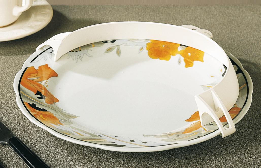 Rebordo para pratos