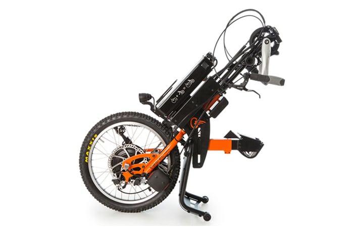 Batec Hybrid um dispostivo de tração que reune num único produto a tecnologia das Batec Electric e Manual, o equivalente a uma biciclieta eletrica assistida