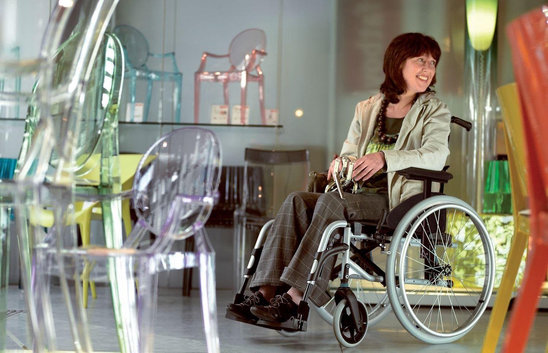 Utilizadora de cadeira de rodas