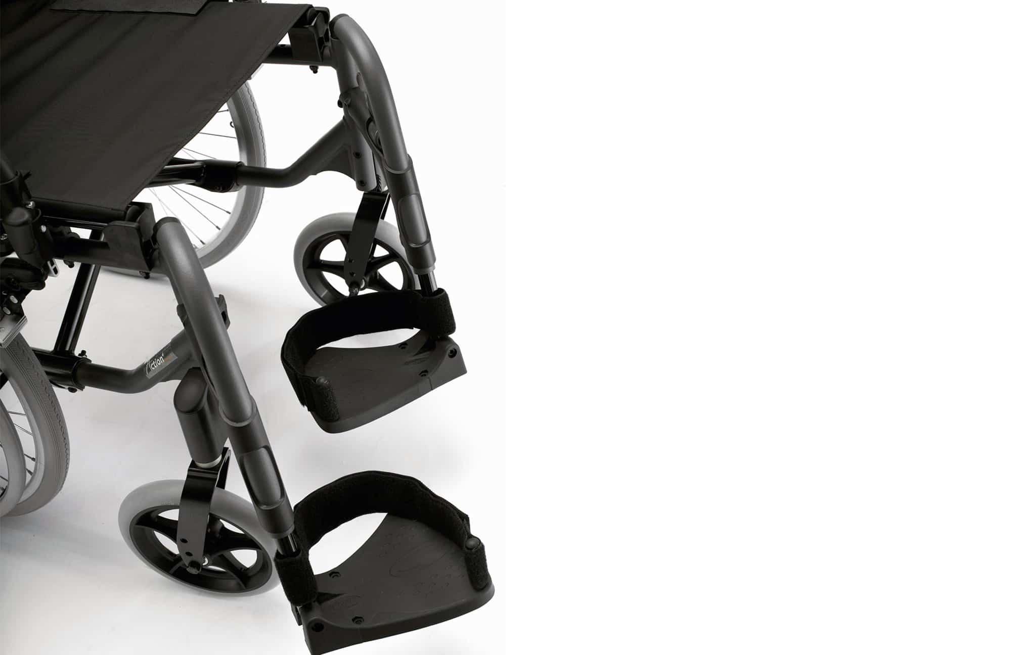 Patins de cadeira de rodas manual