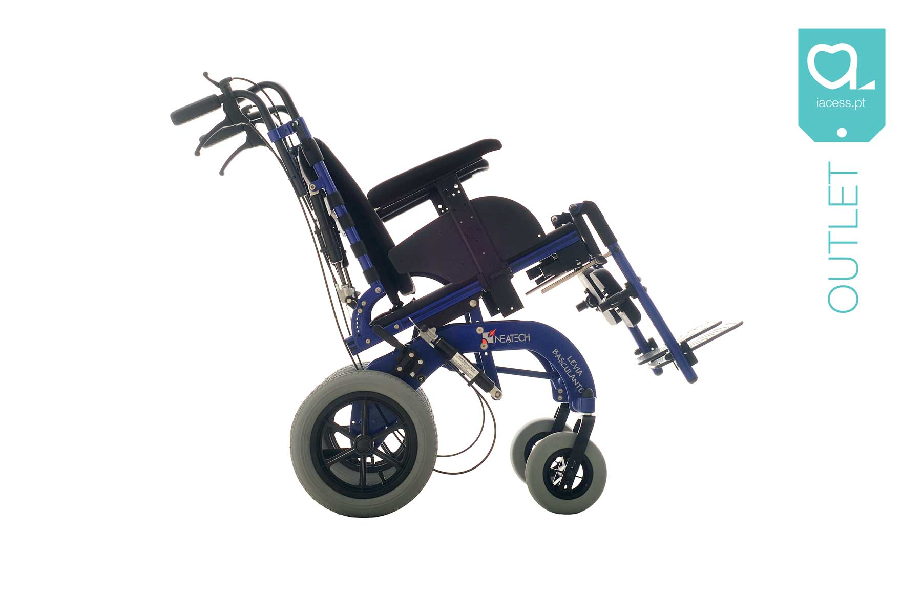 Chassi de cadeira de rodas manual