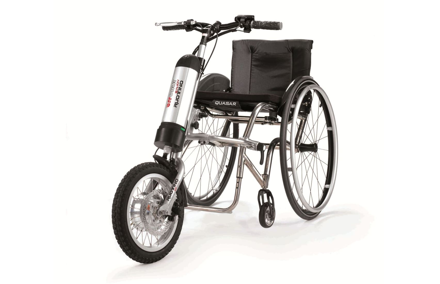 Ruotino enjoy em cadeira de rodas