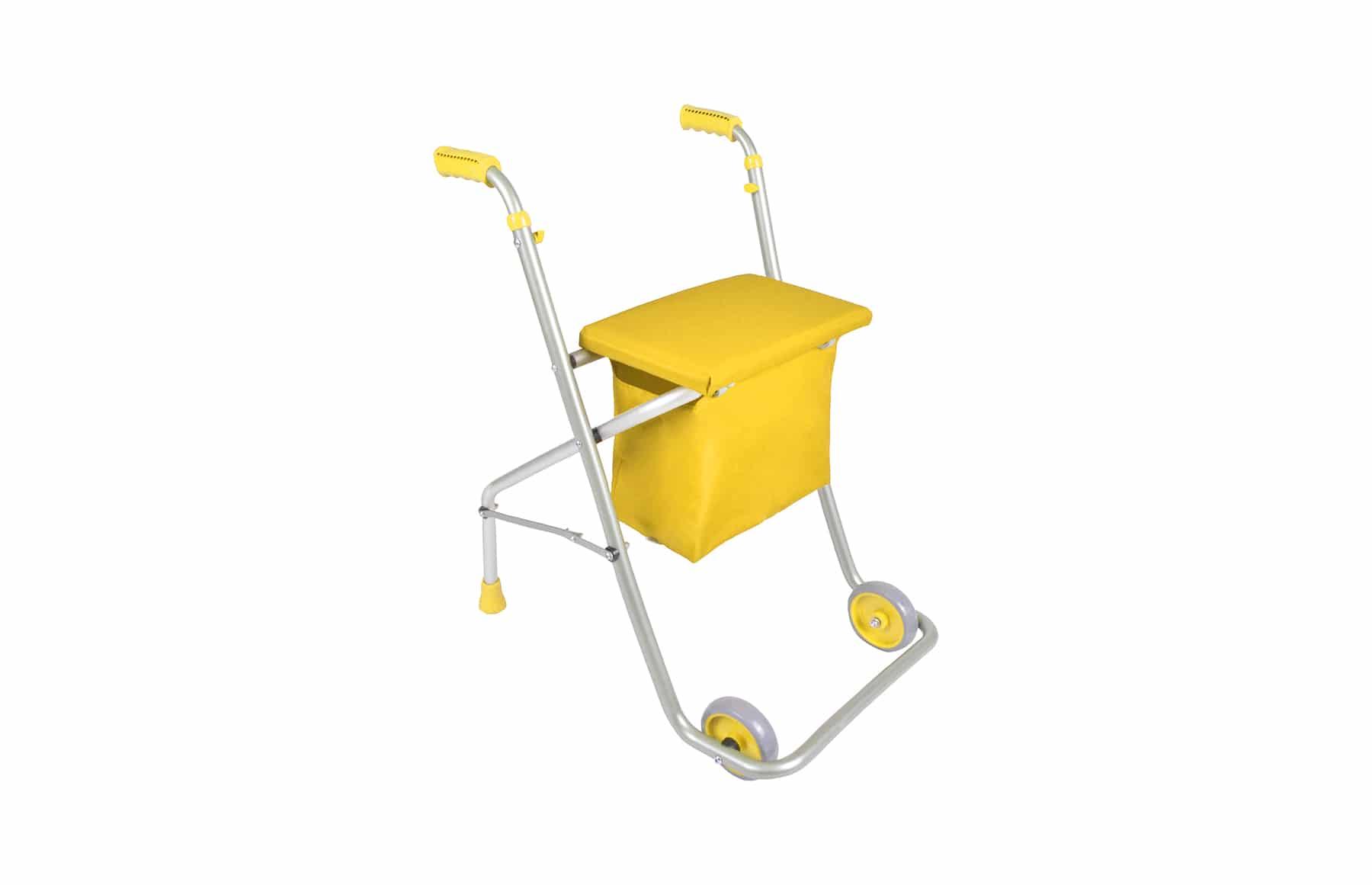 Andarilho A5 amarelo da Orthos XXI