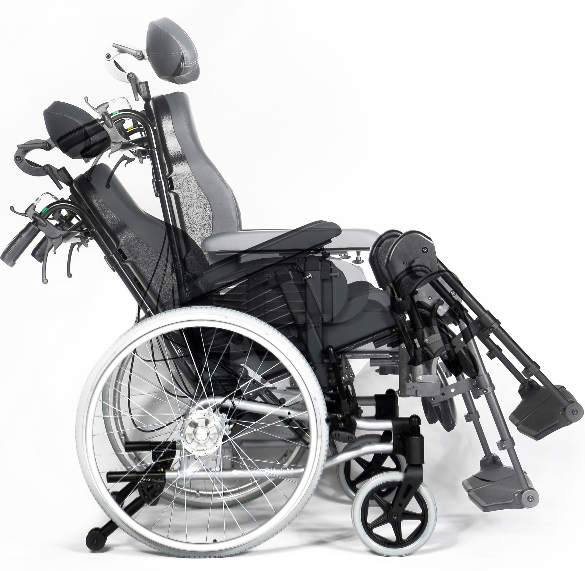 Cadeira de rodas manual breezy relax 2