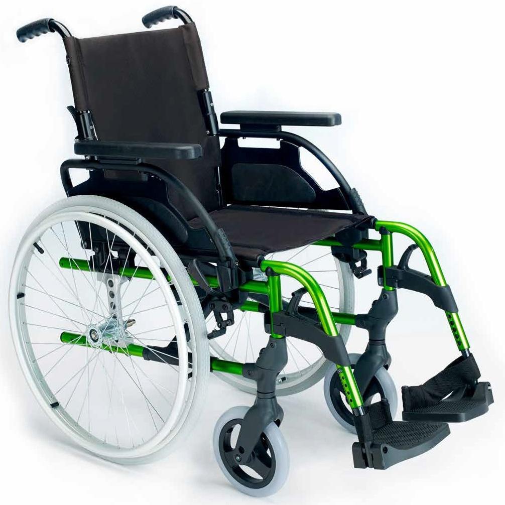 cadeira de rodas breezy style encosto partido