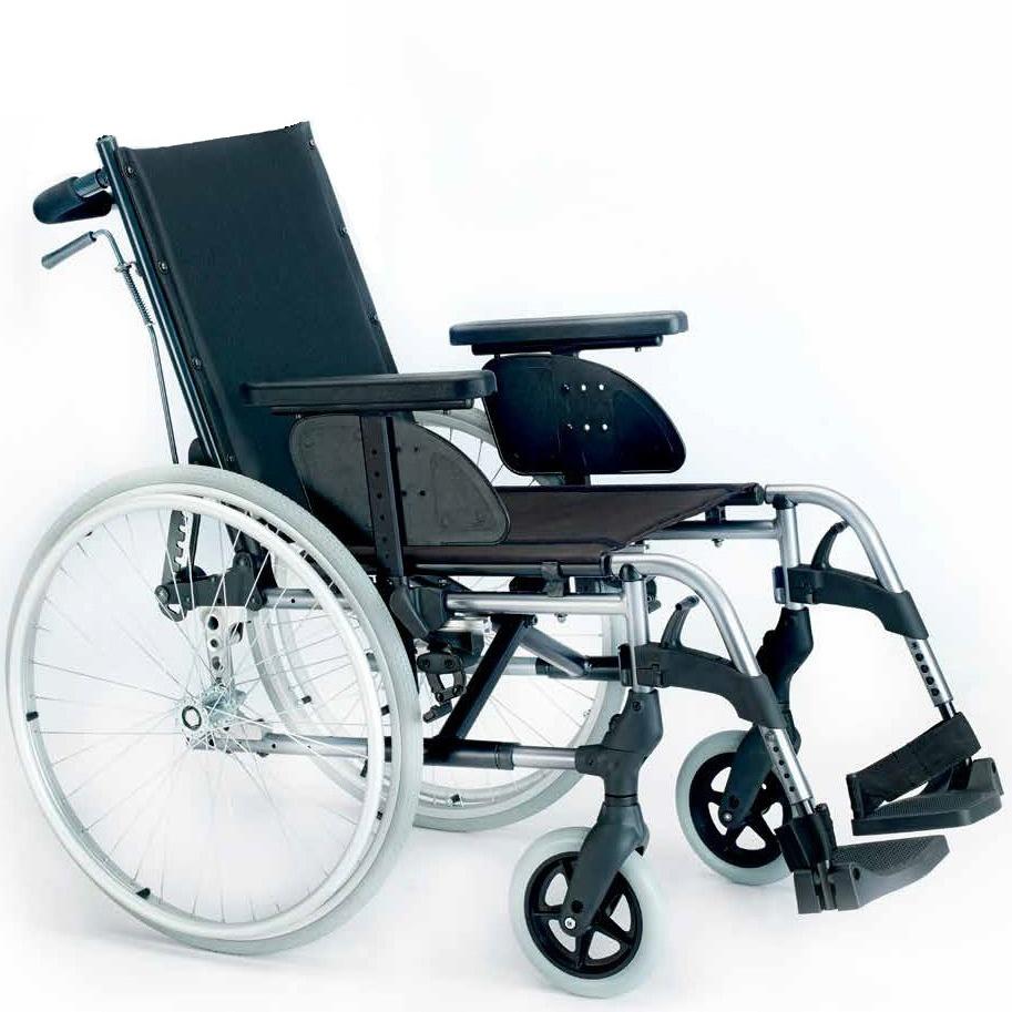 cadeira de rodas breezy style reclinavel