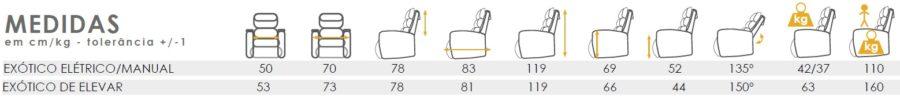 sofa exotico orthos xxi medidas