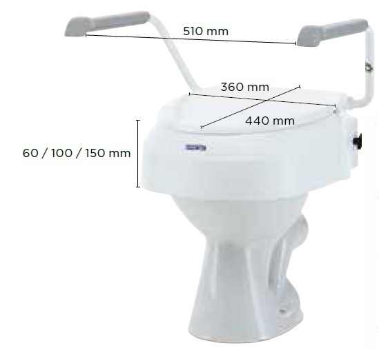 alteador de sanita aquatec 900 medidas