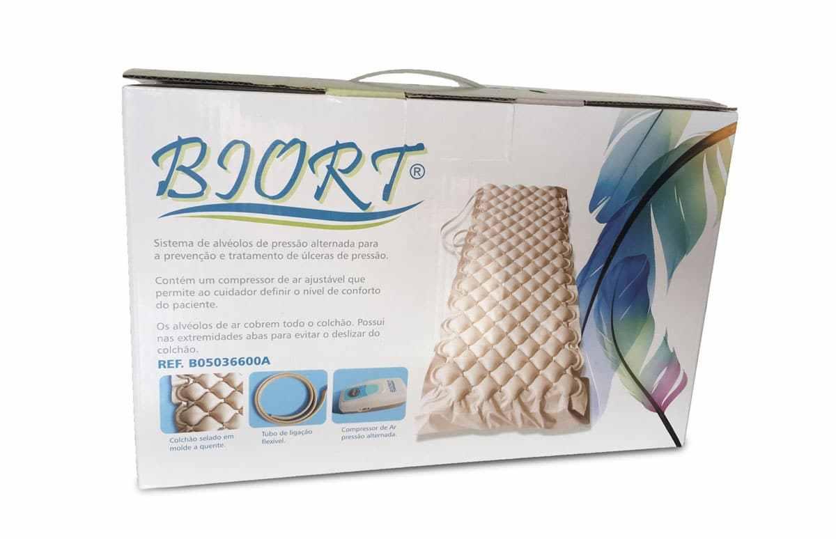 Sobre-colchão anti escaras- Biort