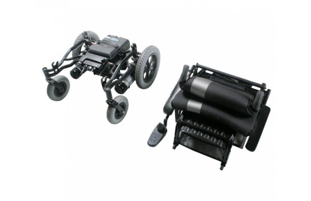 Cadeira de rodas elétrica Ergo traveller desmontável em 3 partes