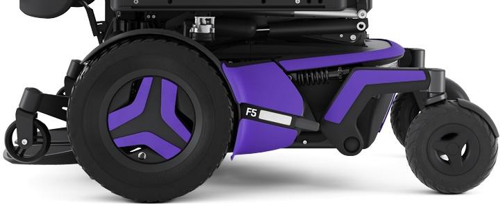 Permobil F5 Corpus Violet