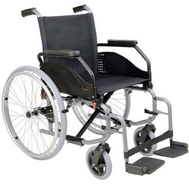 Cadeira de rodas Celta de Eixo Recuado