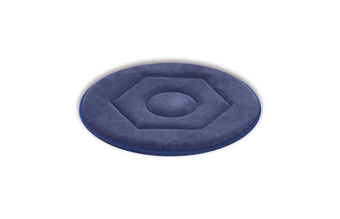 Disco Giratório Easyturn das Ayudas Dinámicas permite uma trasnferencia fácil e com o mínimo de fricção. Composto por material antideslizante e alcochoado.