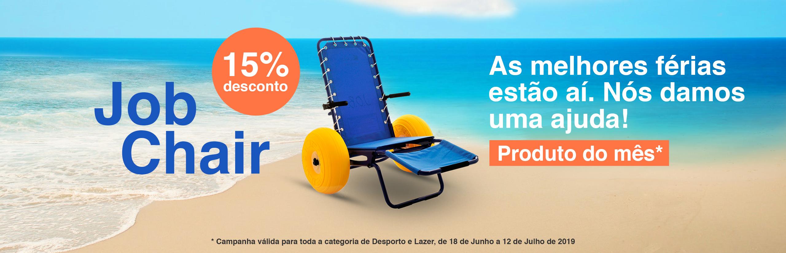 Cadeiras de Rodas de Praia e Piscina