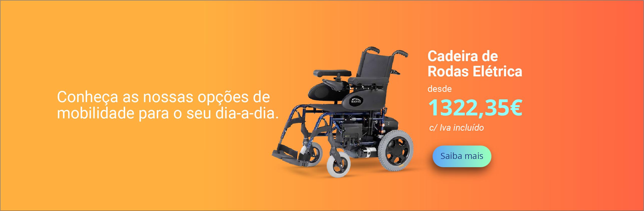 Cadeira de rodas eletrica IACESS Ortopedia