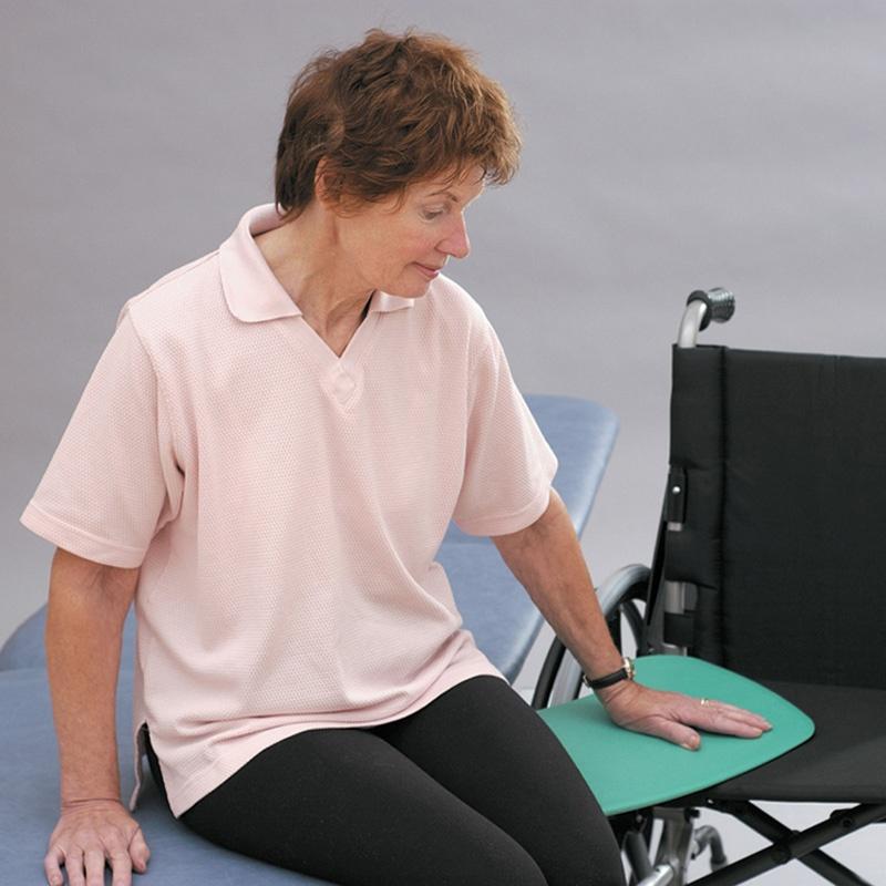 tabua de transferencia curva para cadeira de rodas